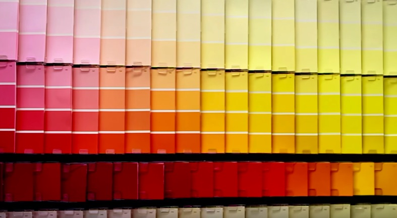 which colour paint improves sleep