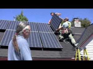 save environment solar panels